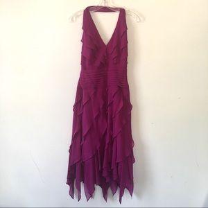 Tadashi Halter Dress Size 6 X/MQ